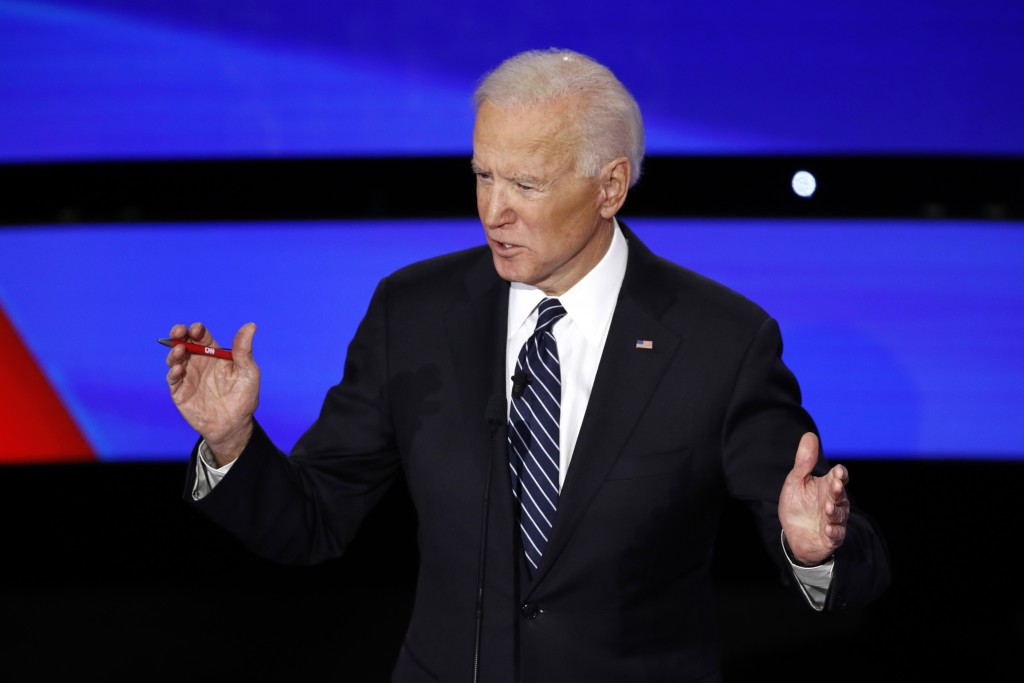 Joe Biden accuses Donald Trump of heightening racial divisions