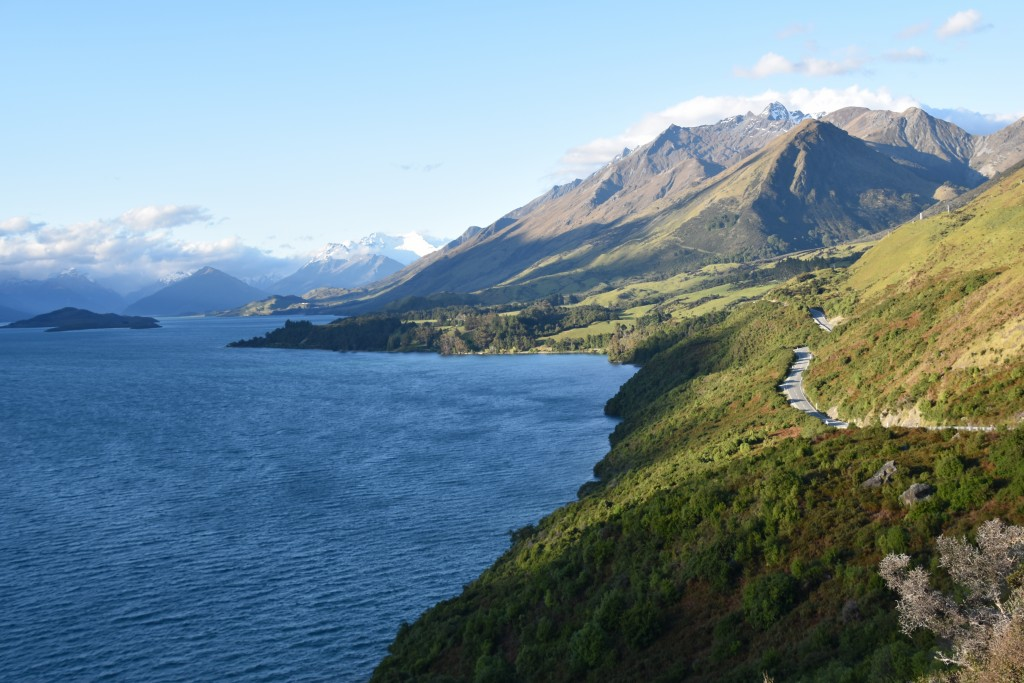 "This Dec. 22, 2019 photo shows the northern end of Lake Wakatipu in Glenorchy, New Zealand where several scenes from ""The Lord of the Rings"" movies we..."