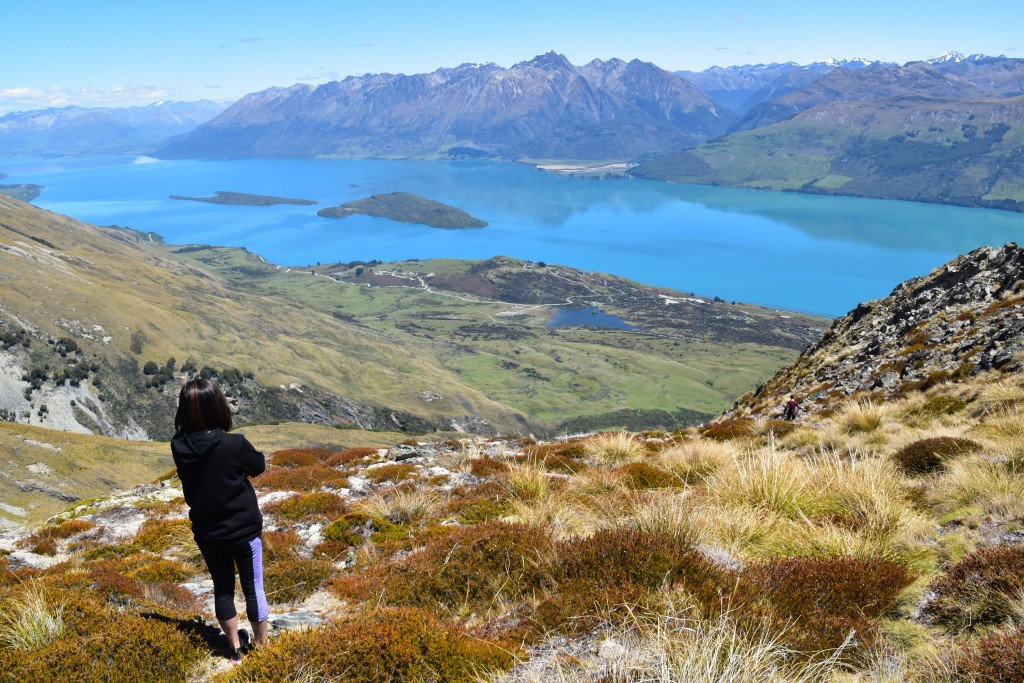 This Dec. 23, 2019, photo shows Lake Wakatipu viewed from the top of Mt. Judah, a small mountain near Glenorchy, New Zealand. (Malcolm Foster via AP)