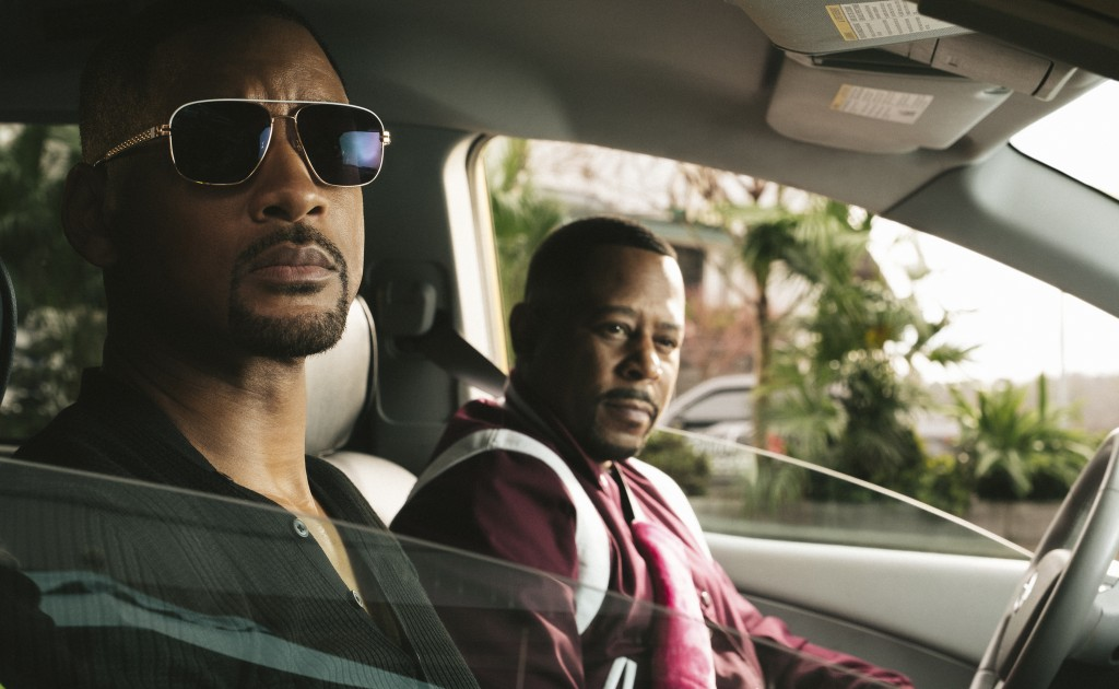 """This image released by Sony Pictures shows Martin Lawrence, right, and Will Smith in a scene from """"Bad Boys for Life."""" (Ben Rothstein/Columbia Picture..."""