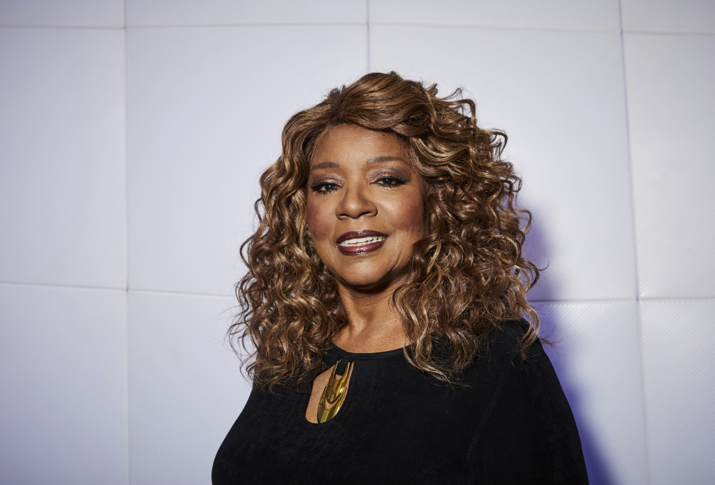 "This Dec. 18, 2019 photo shows singer Gloria Gaynor posing for a portrait in New York. Gaynor, who had the iconic disco hit song ""I Will Survive"" in 1..."