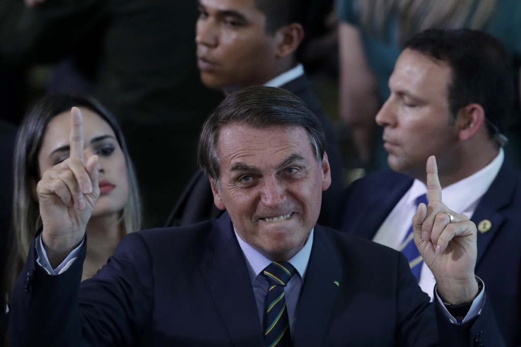 Brazil's culture minister sacked after speech echoing Nazi propagandist Goebbels