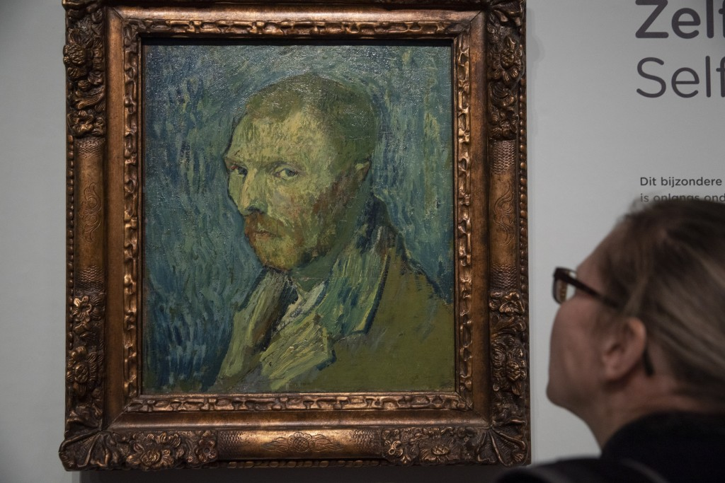 A journalist takes a closer look at the previously contested painting by Dutch master Vincent van Gogh, a 1889 self-portrait, of which the authenticit...