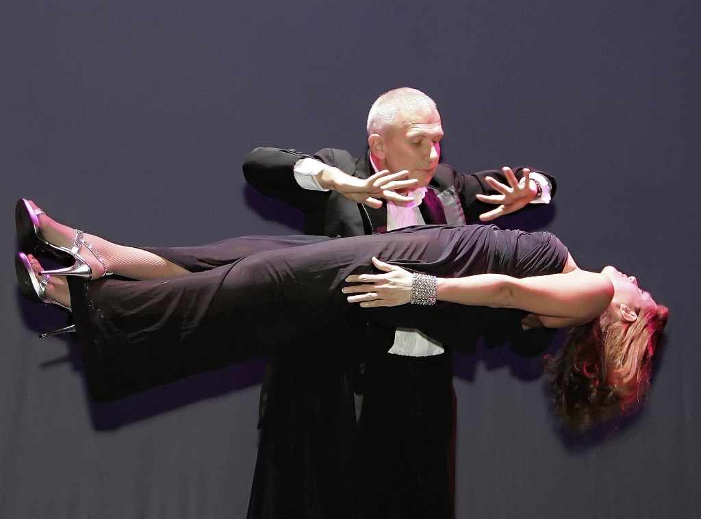 FILE - In this Saturday Oct. 7, 2006 file photo, French fashion designer Jean Paul Gaultier is seen taking part in a magic show for his 30th anniversa...