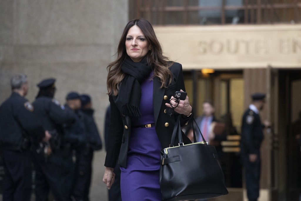 Donna Rotunno, Harvey Weinstein's attorney, leaves the courthouse after a day in his trial on rape and sexual assault charges, Thursday, Jan. 23, 2020...