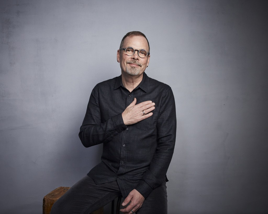 """Director David France poses for a portrait to promote the film """"Welcome to Chechnya"""" at the Music Lodge during the Sundance Film Festival on Sunday, J..."""