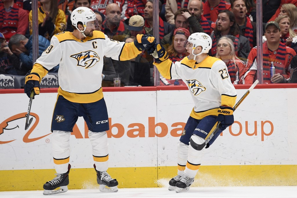 National Hockey League roundup: Predators finally subdue Devils in shootout