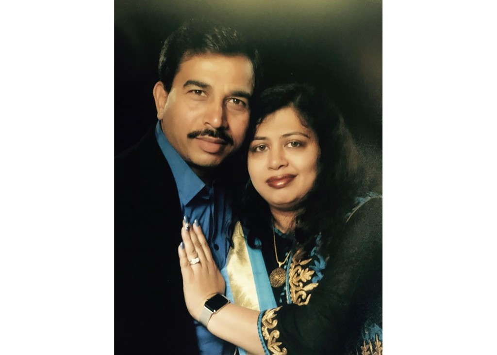 """In this undated photo released by the New Zealand Police, Pratap """"Paul"""" Singh and wife Mayuari """"Mary"""" Singh pose for a portrait together. Pratap Singh..."""
