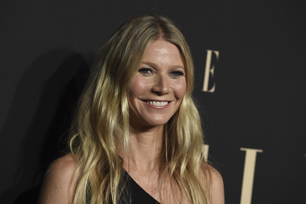 FILE - In this Monday, Oct. 14, 2019 file photo, Gwyneth Paltrow arrives at the 26th annual ELLE Women in Hollywood Celebration in Los Angeles. The ch...