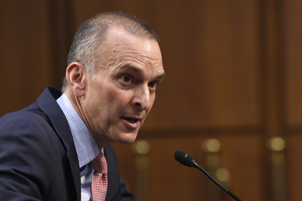 U.S. Anti-Doping Agency Chief Executive Officer Travis Tygart testifies during a Senate Commerce, Science, and Transportation Committee hearing on Cap...