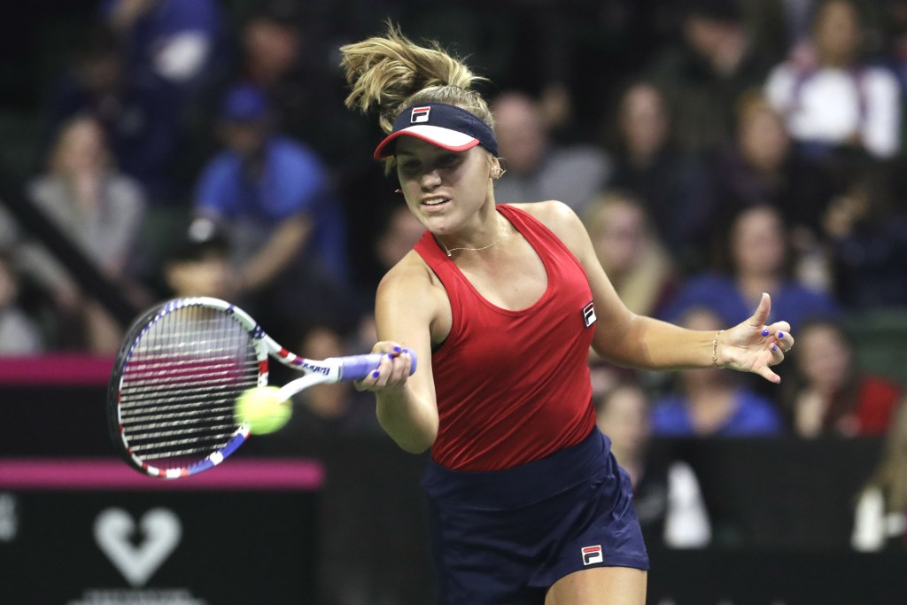 Kenin Gives Us Early Lead Over Latvia In Fed Cup Taiwan News
