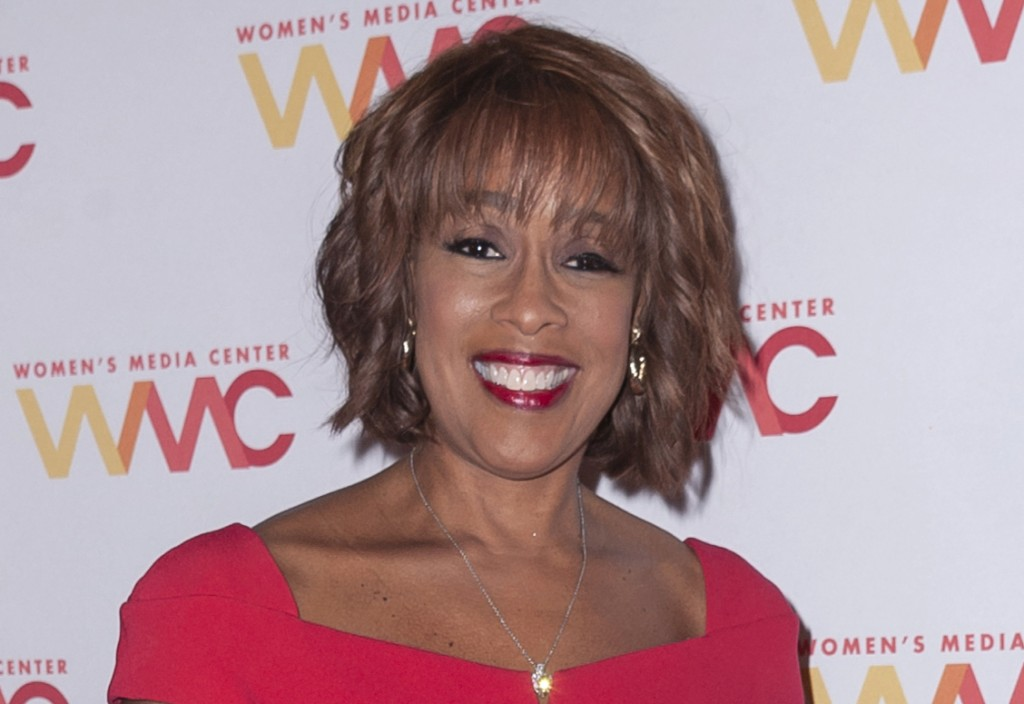 FILE - In this Oct. 22, 2019 file photo, Gayle King attends the 2019 Women's Media Awards, hosted by The Women's Media Center, at the Mandarin Orienta...