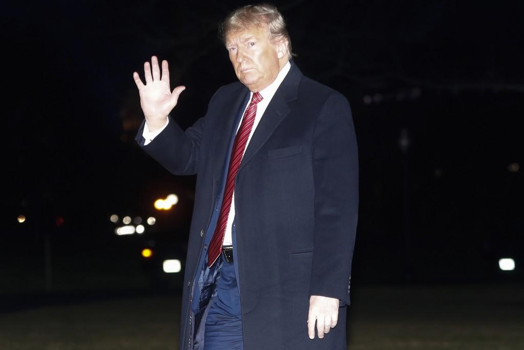 美國總統川普(美聯社圖片)