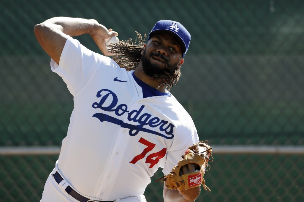 Dodgers' Kenley Jansen reports to camp after having COVID-19 | Taiwan News