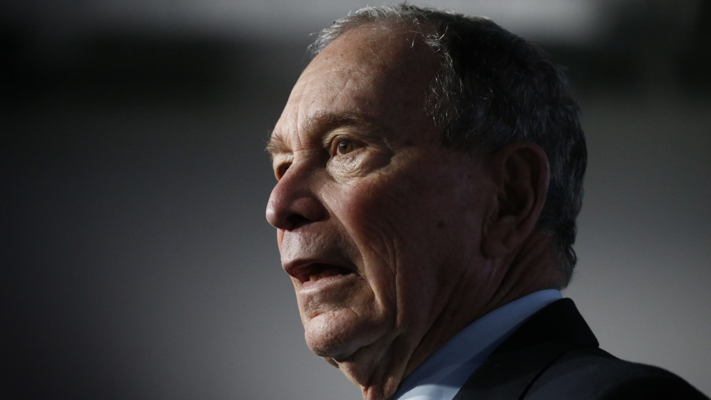 Democratic presidential candidate and former New York City Mayor Mike Bloomberg speaks during a campaign event, Thursday, Feb. 20, 2020, in Salt Lake ...
