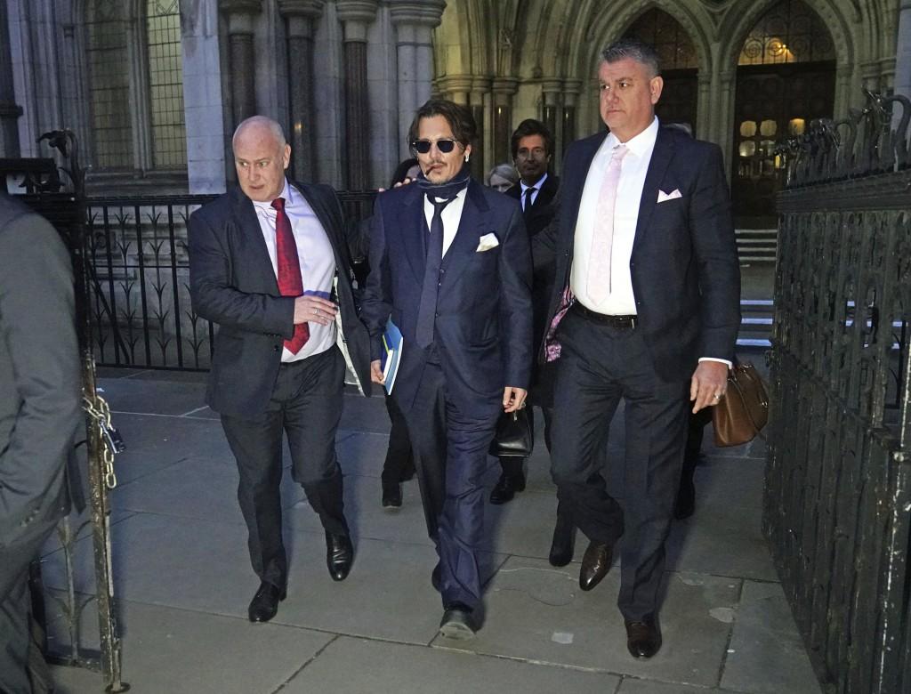 Johnny Depp's libel case against United Kingdom tabloid stalled by virus