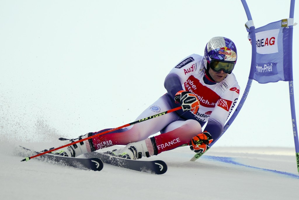 Pinturault Wins Gs To Take World Cup Lead From Kilde Taiwan News 2020 03 02