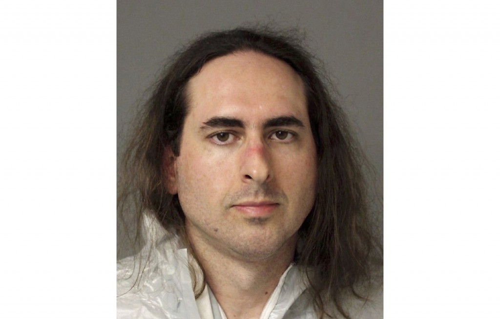 FILE - This June 28, 2018, file photo provided by the Anne Arundel Police shows Jarrod Ramos in Annapolis, Md. Lawyers in the case of Ramos, who says ...