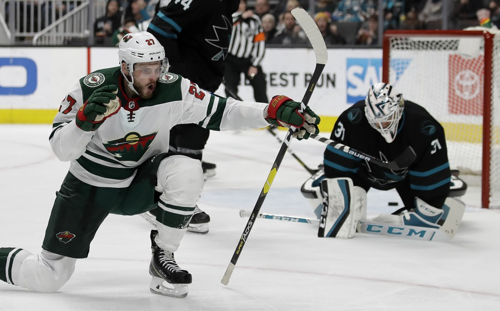 Wild are back in a playoff spot