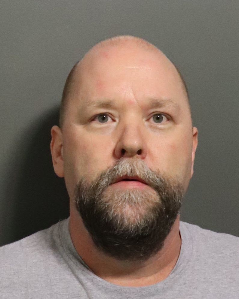 This undated photo provided by the Douglas County Sheriff's Office shows Shawn O'Brien who was charged Feb. 21, 2020 with one count of indecent libert...