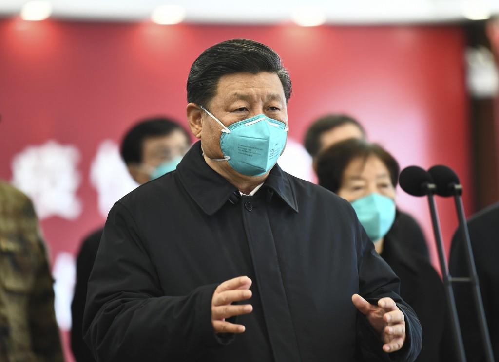 瘟疫讓世界看清中共,圖為中共領導人習近平。(美聯社圖片)