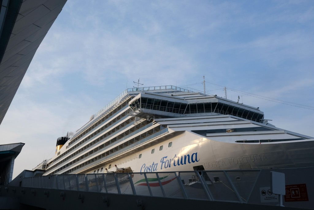 The Latest Cruise Ship Passengers Disembark In Singapore Taiwan News 2020 03 10
