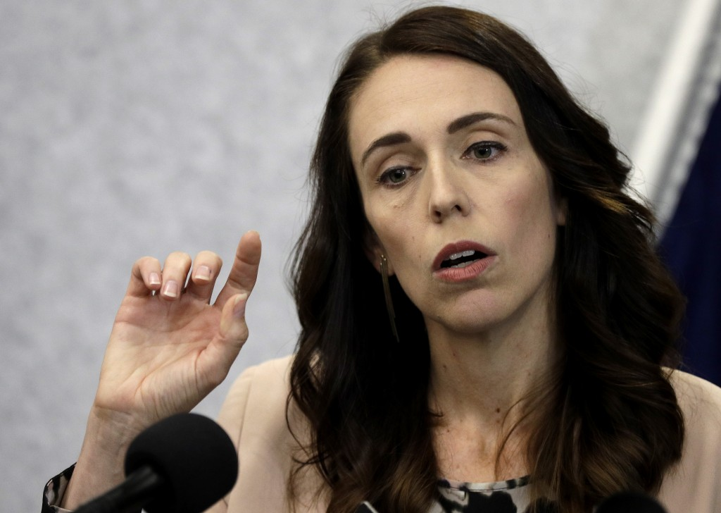 New Zealand Prime Minister Jacinda Ardern addresses a press conference in Christchurch, New Zealand, Friday, March 13, 2020.Events to mark the death o...