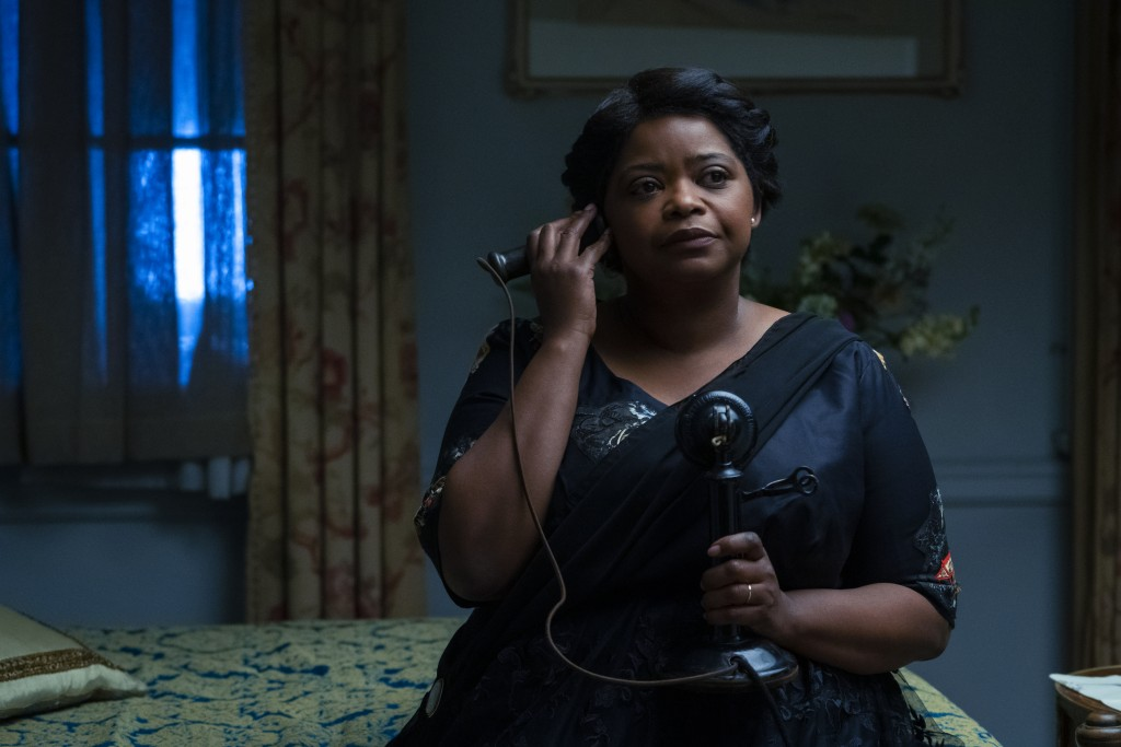 """This image released by Netflix shows Octavia Spencer in a scene from """"Self Made: Inspired by the Life of Madam C.J. Walker."""" (David Lee/Netflix via AP..."""