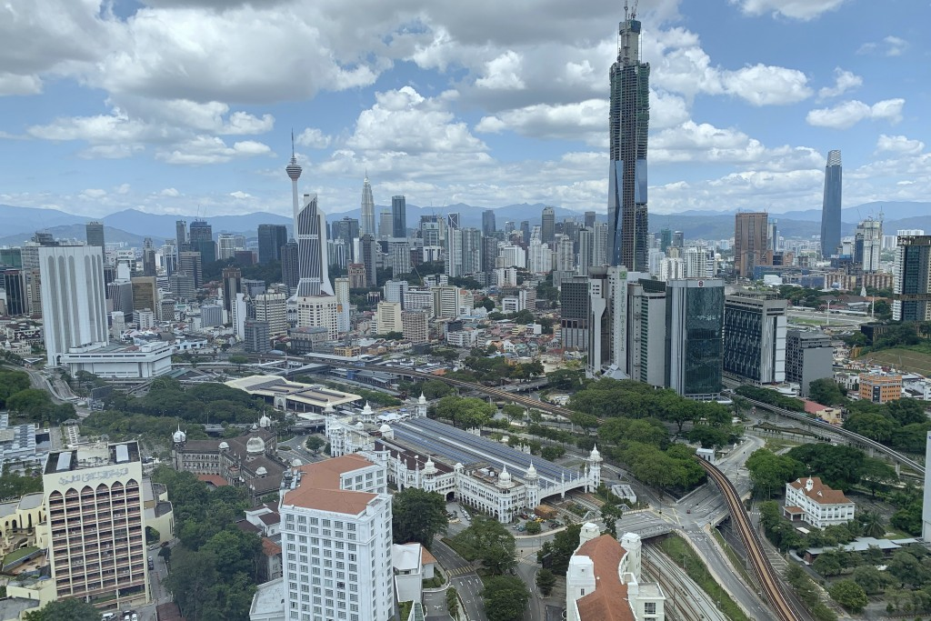 The city center of Kuala Lumpur, Malaysia is seen empty Wednesday, March 25, 2020. Malaysian government extended movement order to the public until Ap...