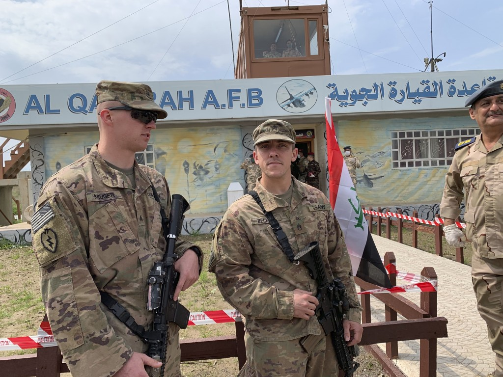 US Pulls Out of a Third Base in Iraq