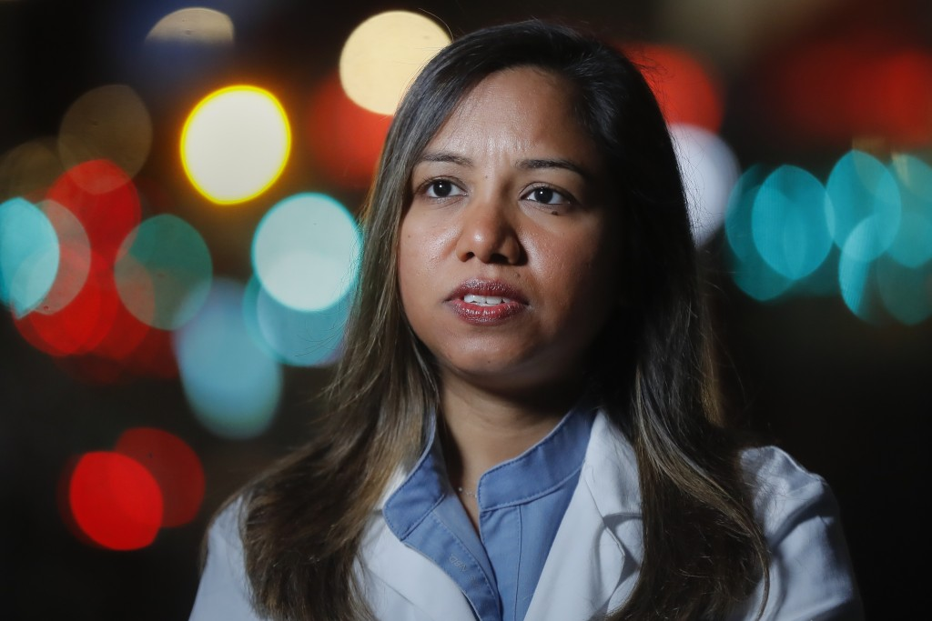 CORRECTS SPELLING TO DOOBAY INSTEAD OF DOOBEY ON SECOND REFERENCE - Kamini Doobay, an Emergency Medicine Resident physician at NYU Langone Medical Cen...