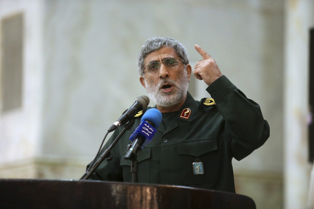 Iran's top commander warns United States against threatening security