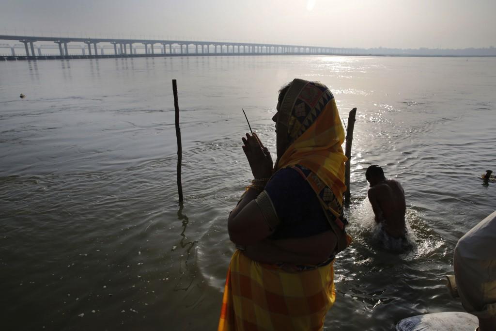 印度恆河(美聯社圖片)