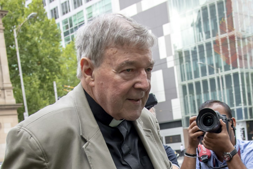 Cardinal says he holds 'no ill will' over abuse claim — George Pell