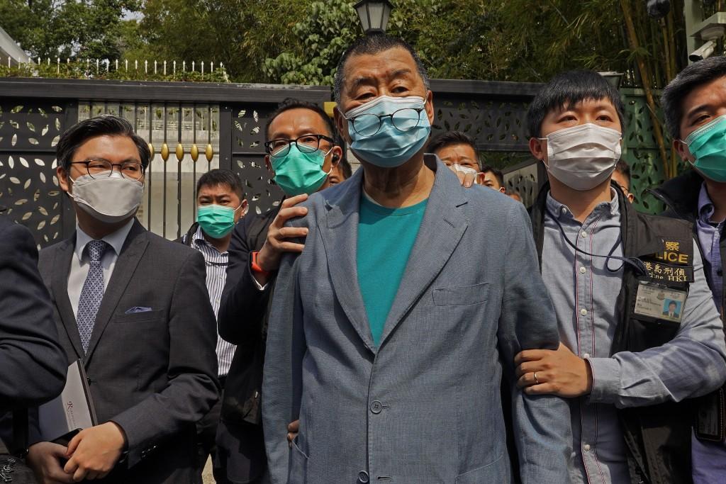 Hong Kong police detain democracy activists in raids
