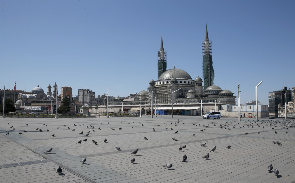 Turkey's coronavirus death toll rises by 126 to 1,769: health minister