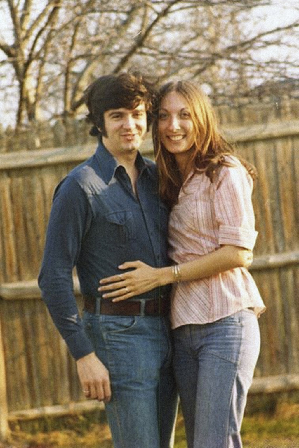 This 1976 family photo shows Isaiah Kuperstein and his future wife, Elana. Kuperstein died from COVID-19 on April 4, 2020. He was 70. (Kuperstein fami...