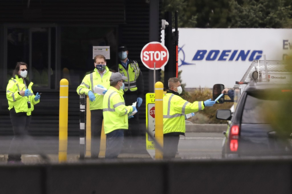 Coronavirus: Boeing to cut 15,000 jobs in 'body blow'