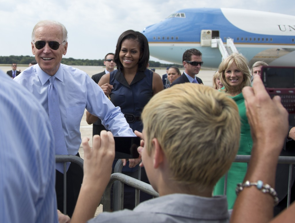 Biden: I would pick Michelle Obama as VP 'in a heartbeat'