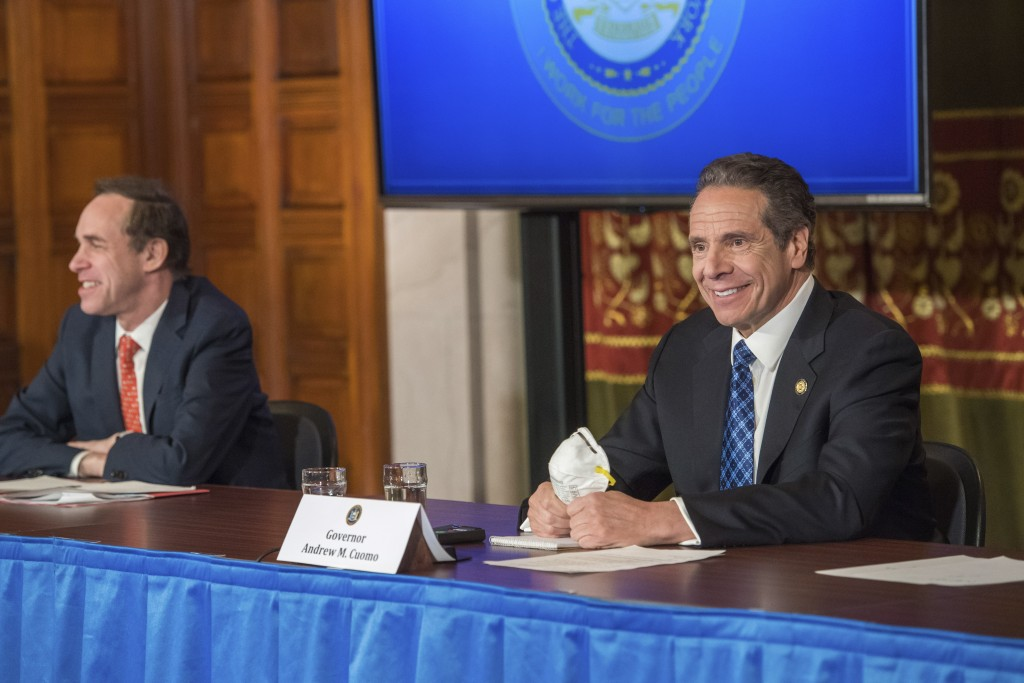 Cuomo calls for expanded testing for front-liners