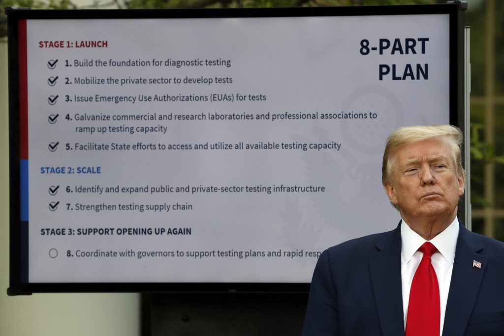 Trump says China could have stopped coronavirus, Beijing decries shifting of blame