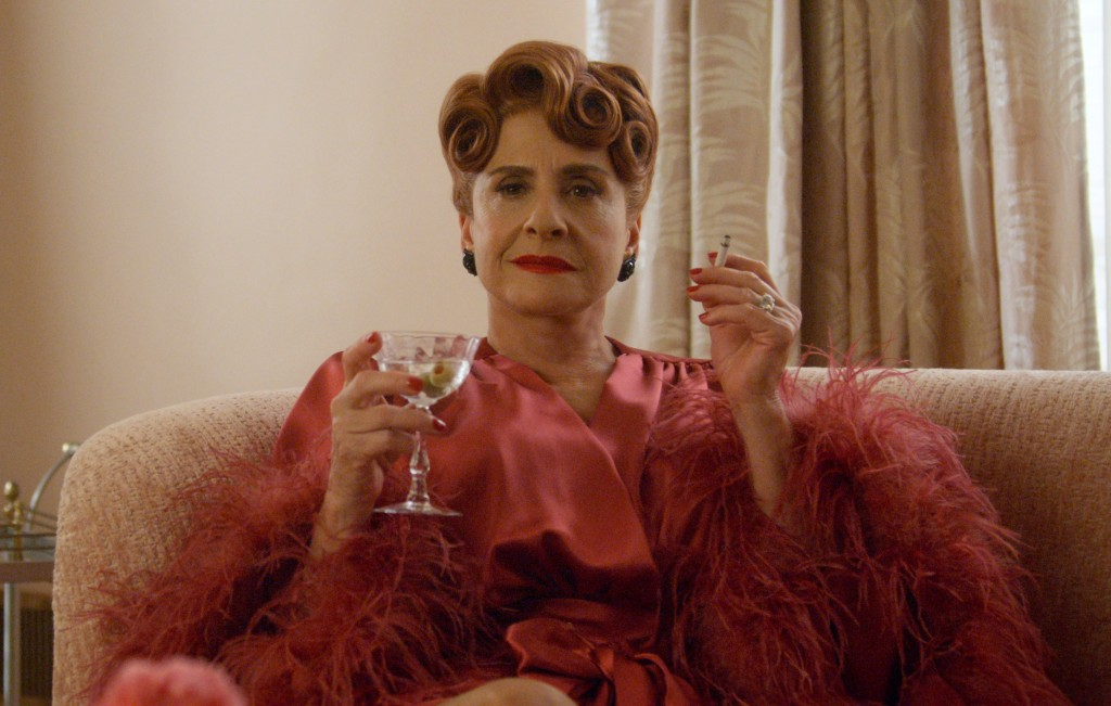 """This image released by Netflix shows Patti LuPone in a scene from """"Hollywood,"""" premiering May 1 on Netflix. (Netflix via AP)"""