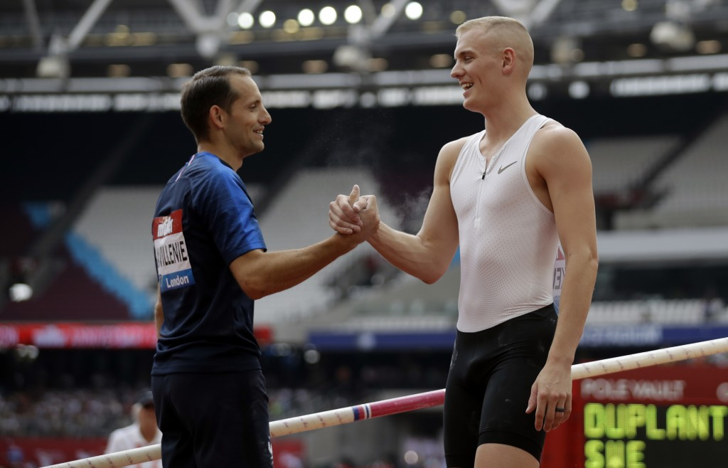 Back garden athletics: top vaulters set for 'ultimate clash'