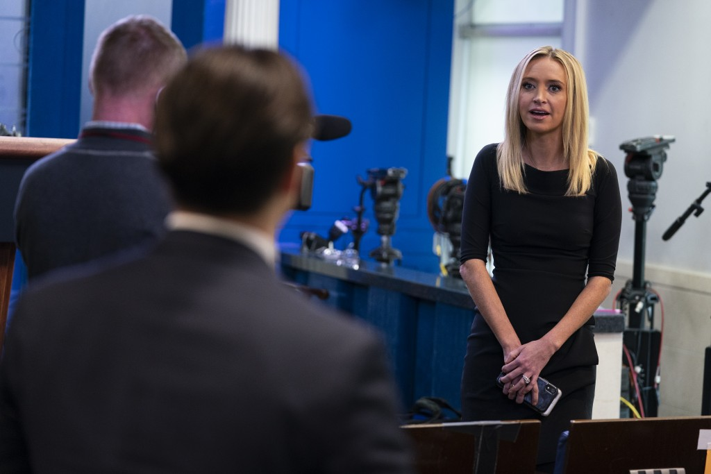 Trump's New Press Secretary Kayleigh McEnany Lied In Her First Briefing