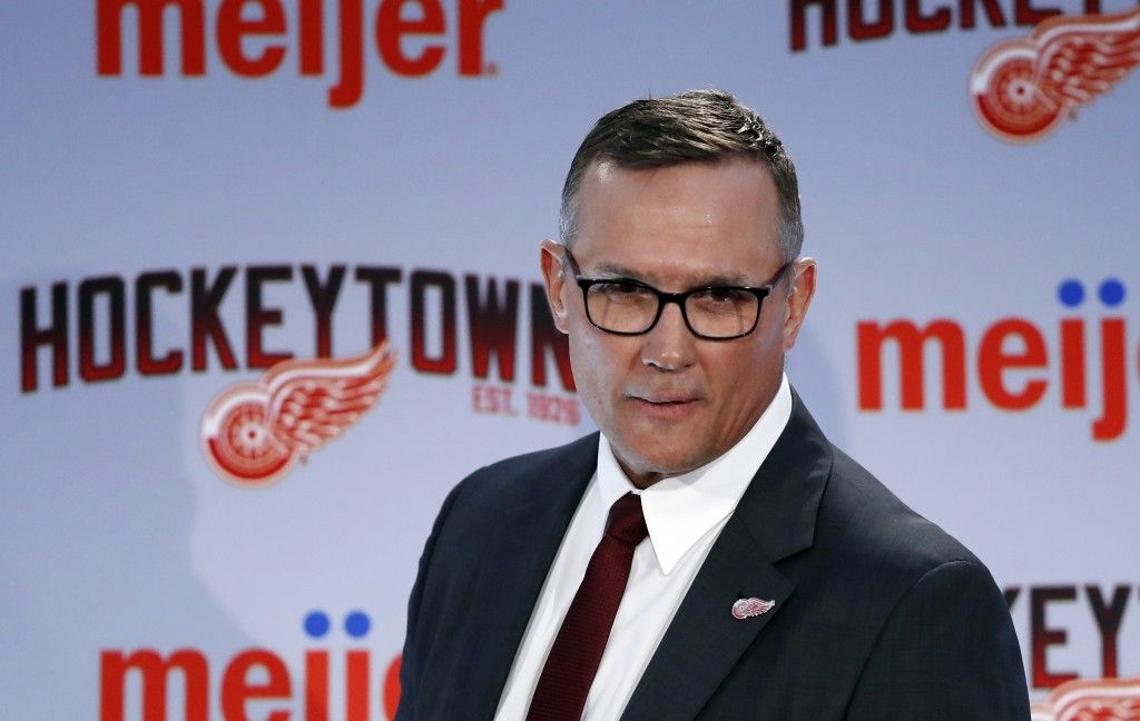 Yzerman-led Red Wings sticking to long-term plan to rebuild