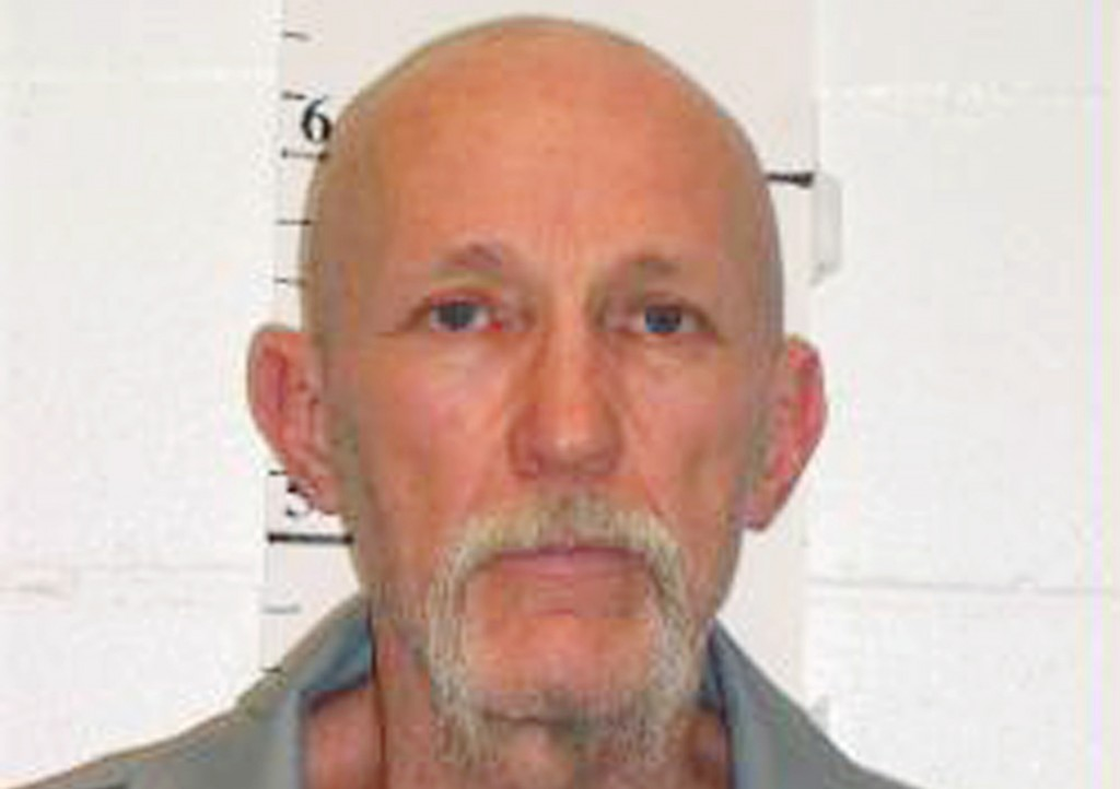 FILE - This Feb. 18, 2014, file photo provided by Missouri Department of Corrections, shows death row inmate Walter Barton, convicted of killing an 81...