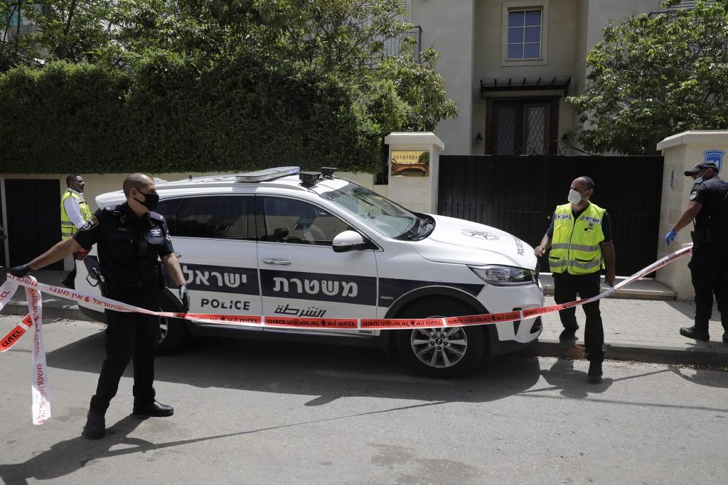 中國駐以色列大使杜偉在17日被發現死於海爾茲利亞家中(照片來源:美聯社)