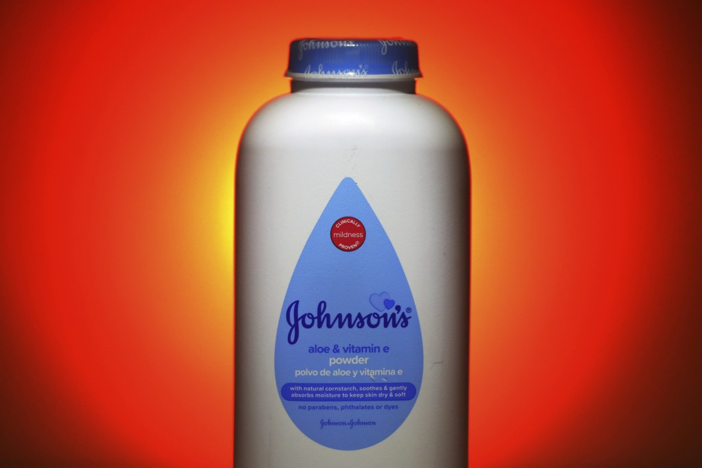 CORRECTS TO CLARIFY THAT J&J'S CORNSTARCH-BASED BABY POWDER, SUCH AS THIS ONE SHOWN IN THIS PHOTO, WILL STILL BE SOLD IN NORTH AMERICA, AS OPPOSED TO ...