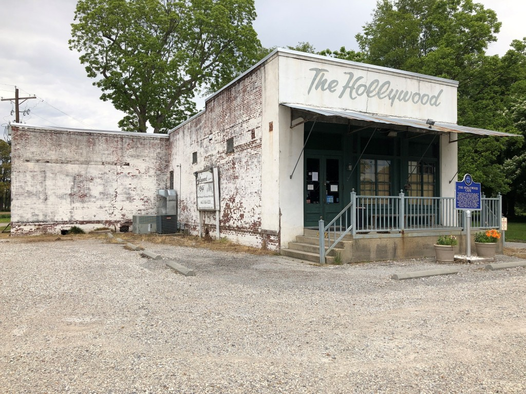 In this Monday, May 11, 2020, photo, the Hollywood Cafe is closed in Tunica, Miss. A county in the heart of the historically impoverished Mississippi ...