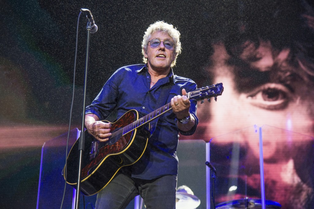 FILE - In this Aug. 13, 2017 file photo, Roger Daltrey of The Who performs at the 2017 Outside Lands Music Festival at Golden Gate Park in San Francis...